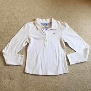 NWT Tommy Hilfiger long sleeve collared shirt